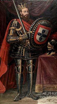 "Alfonso I ""The Conqueror""  King of Portugal Henriquez"