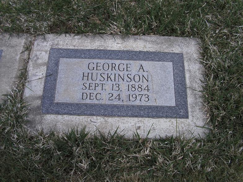 George Albert Huskinson