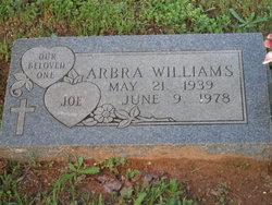 Arbra Joe Williams