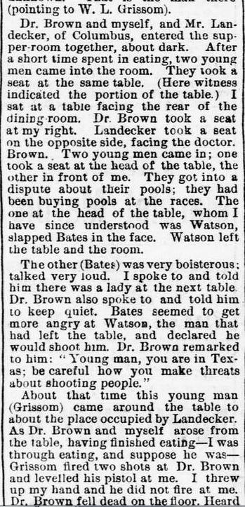 Joseph Warren (Dr) Brown