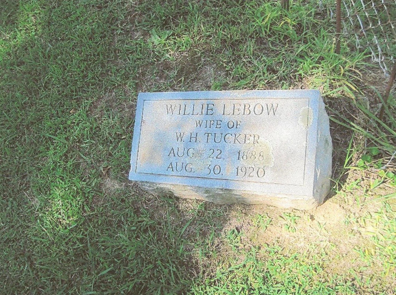 Willie Mae Lebow