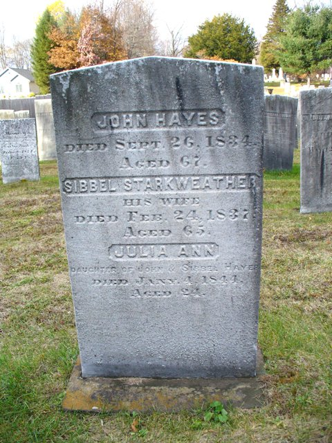 Sibbel (spelling from gravestone) Anderson