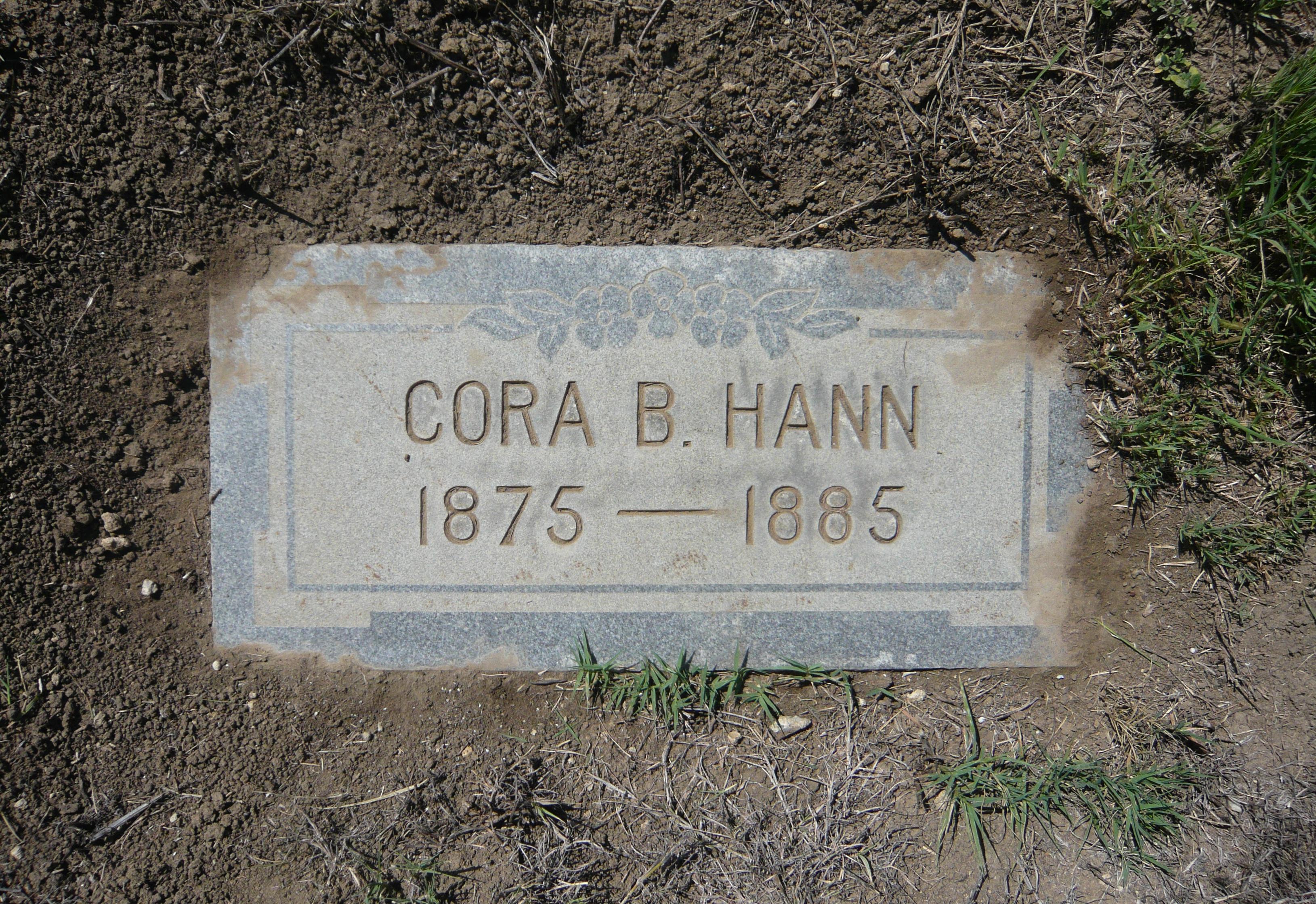 Cora B Hann