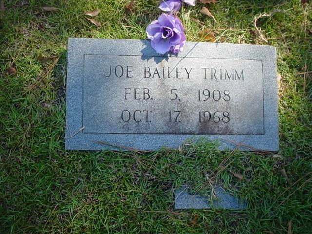 Joe Bailey Trimm