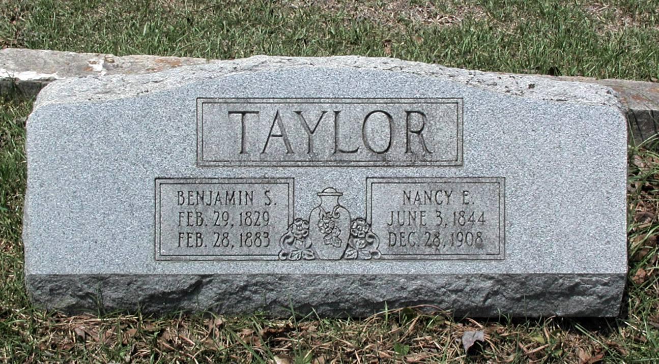 Benjamin Shadrach Taylor