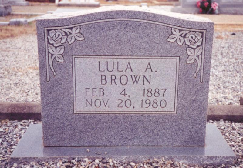 Lula A Brown