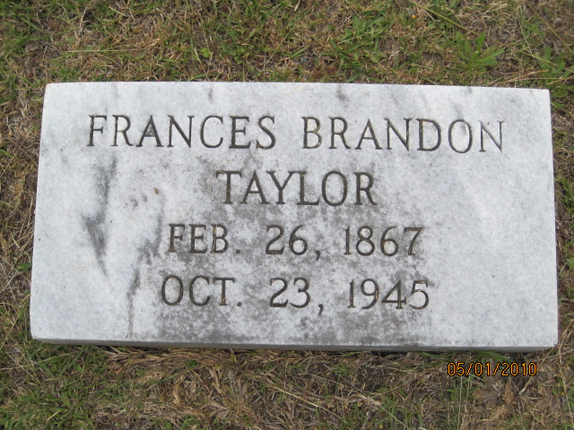 Frances Carrie ( Fanny ) Brandon