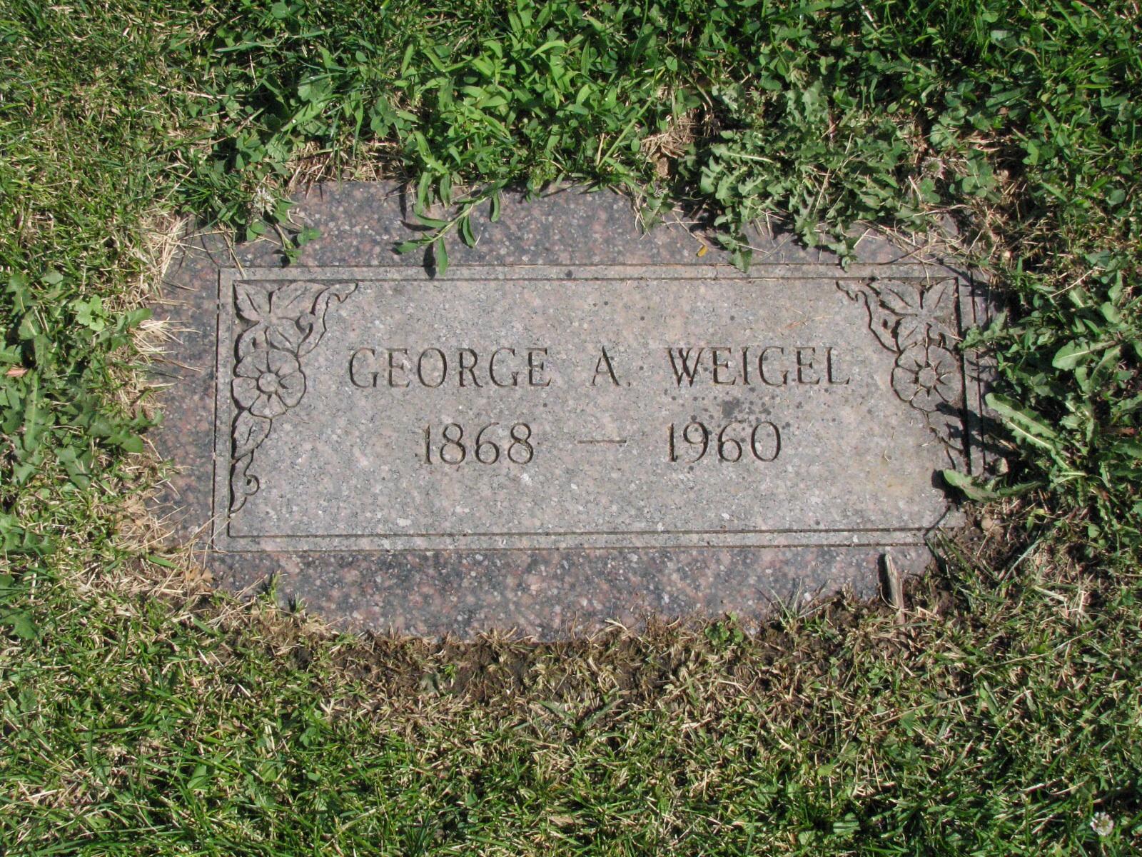 George A Weigel