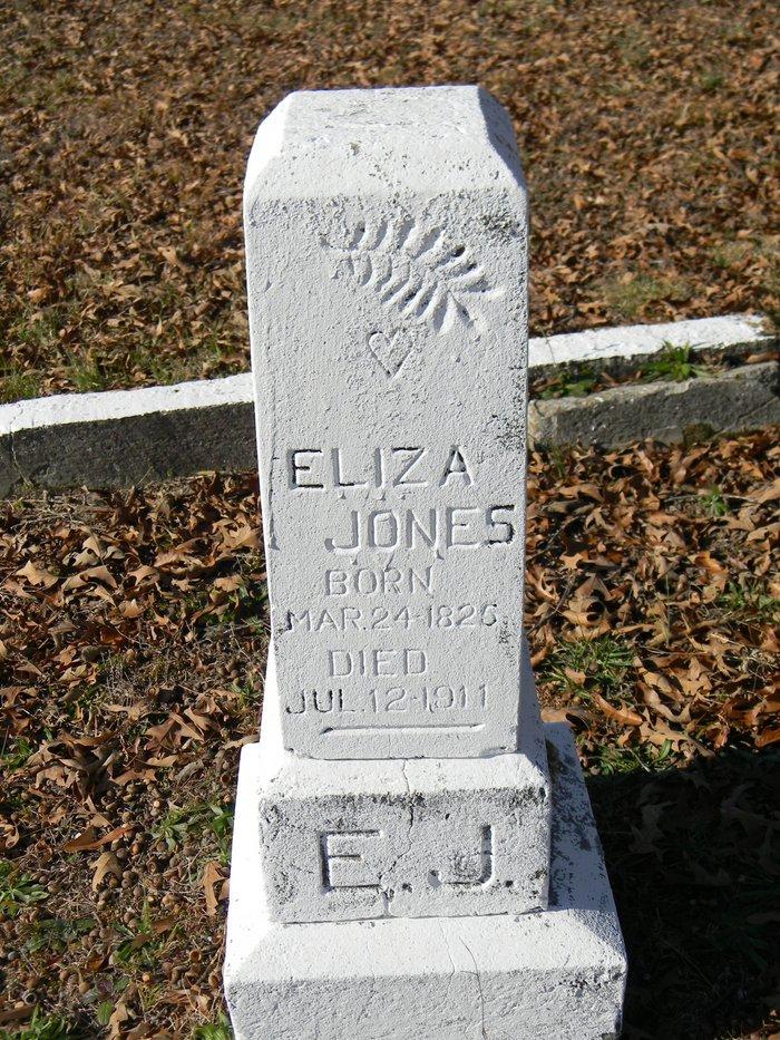 Eliza A Jones