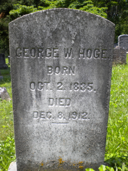 George Washington Hoge