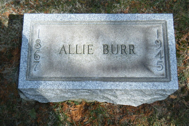 Alma Allie C Burr
