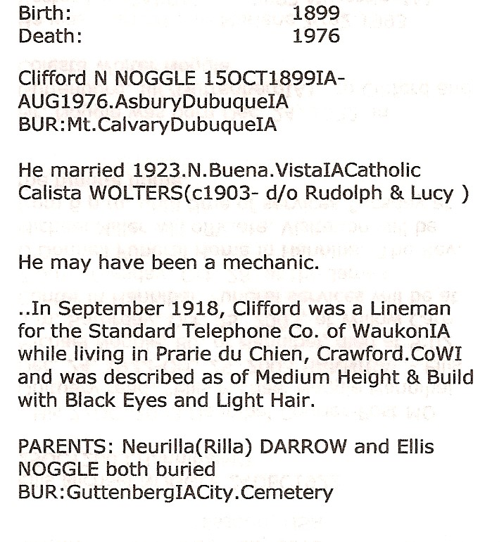 Clifford N. Noggle