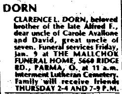 Clarence L Dorn