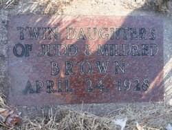Twin Daughter 1 Brown