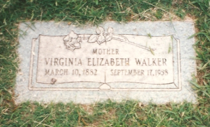 Virginia Elizabeth (Ginnie) Worley