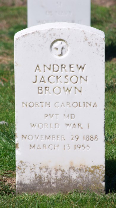Andrew Jackson Brown