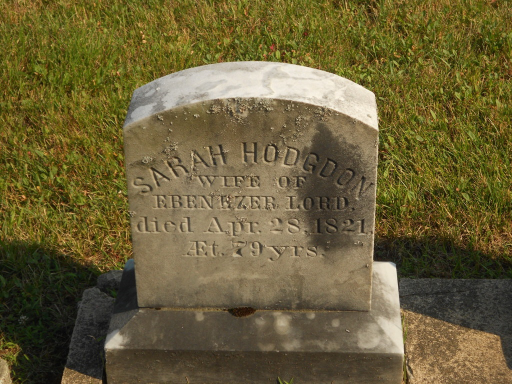 Sarah Hodgden (Hodsden)