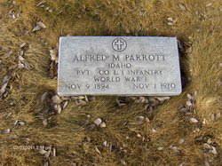 Alfred Myron Parrott