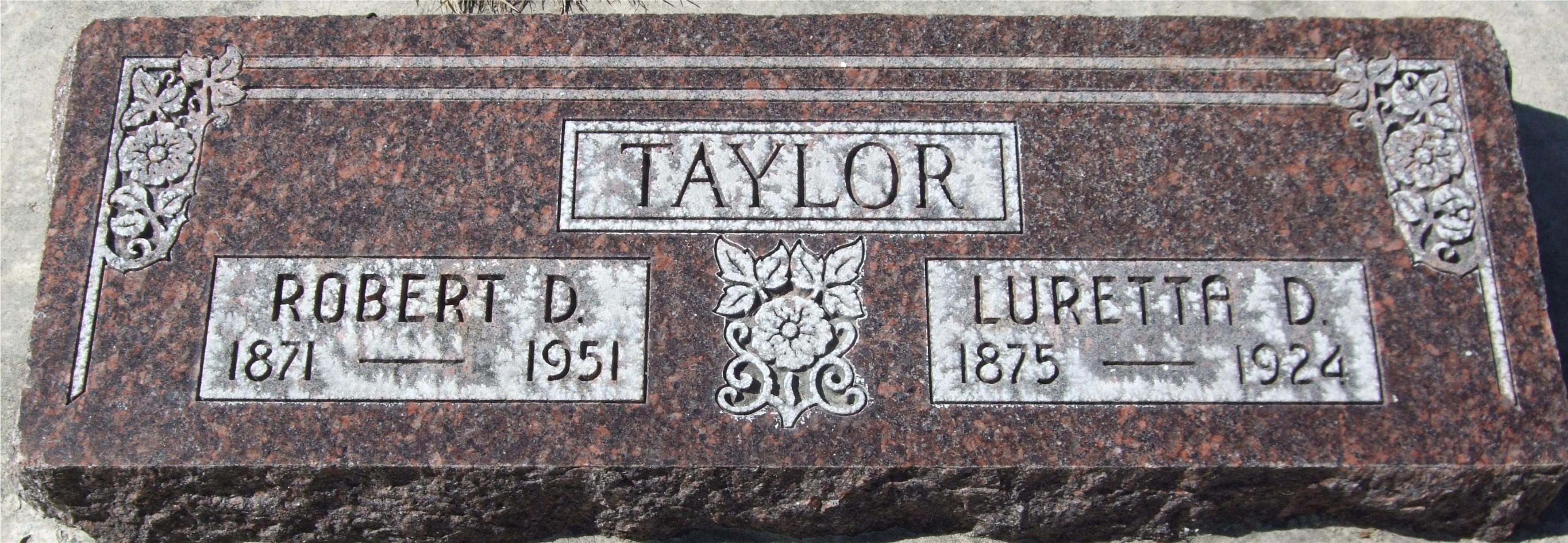 Robert Dee Taylor