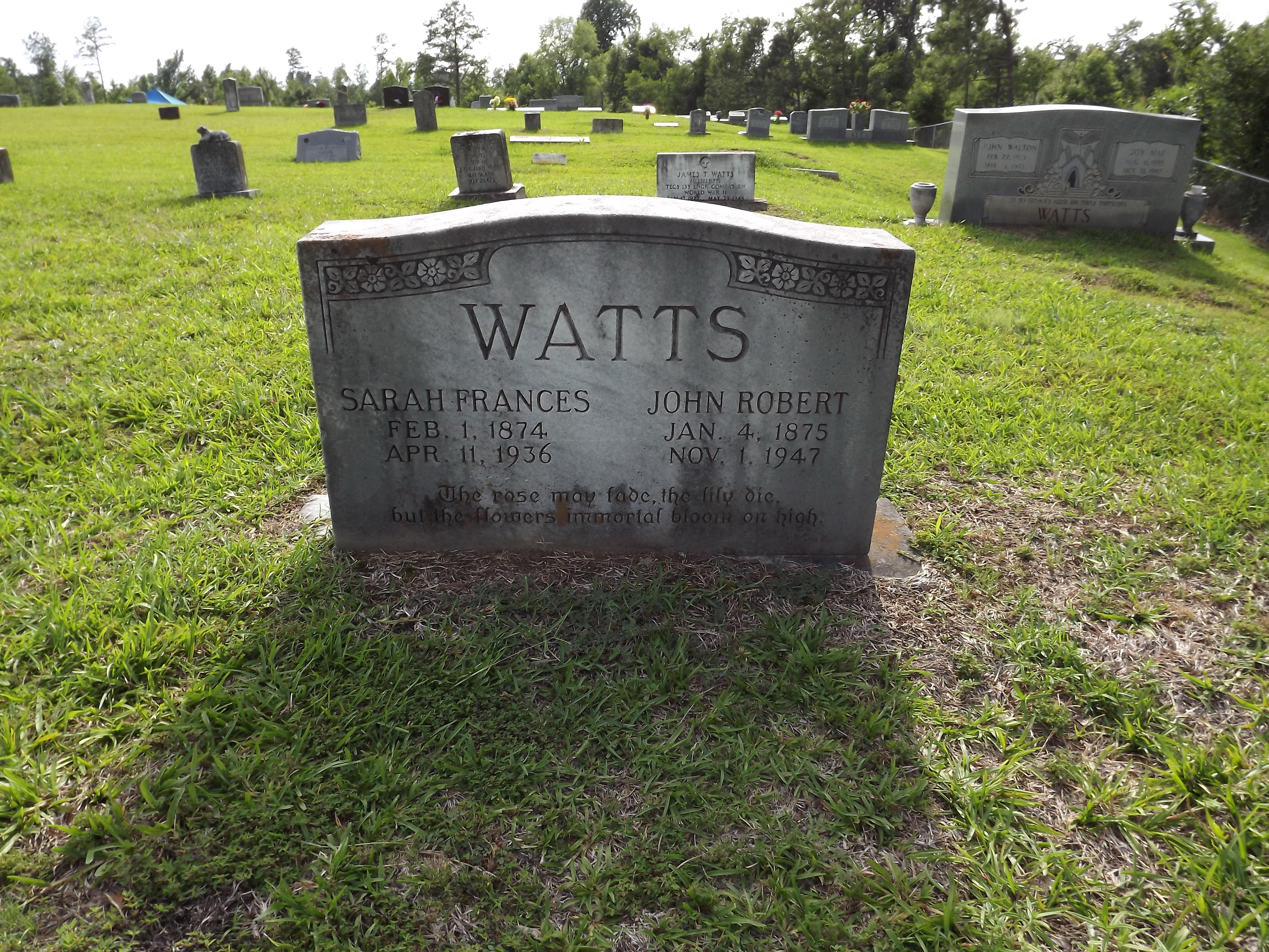 """John Robert """"Johnny"""" Watts"""