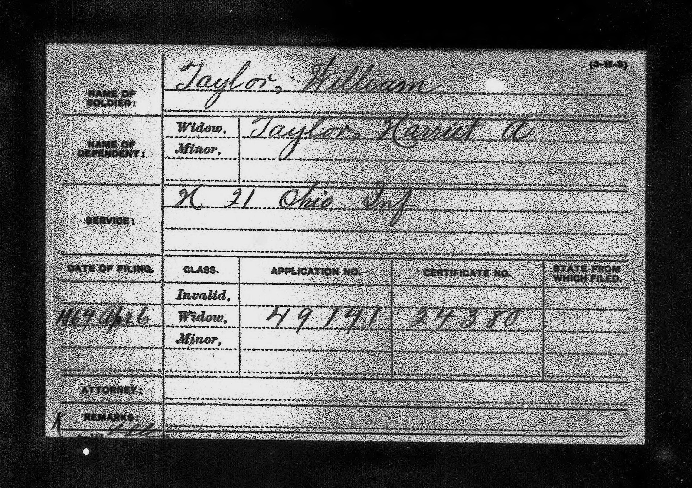 William A Taylor