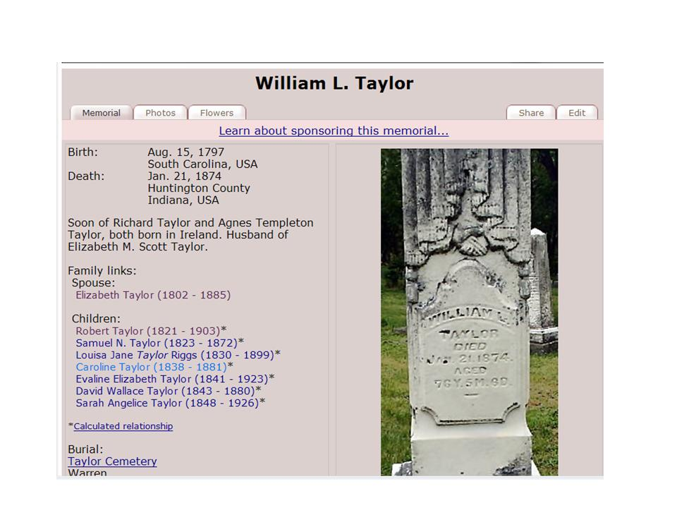 William L Taylor