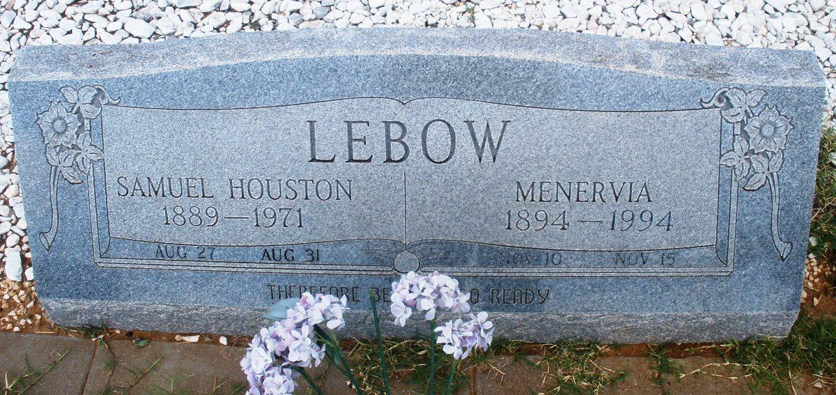 """Samuel Houston """"Doc"""" Lebow"""
