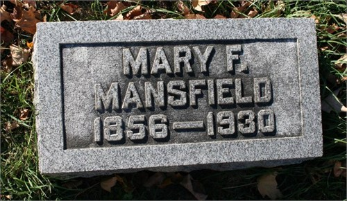 Mary Francis Mansfield
