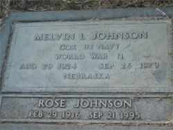 Melvin Leroy Bud Johnson