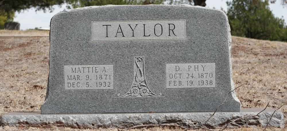 Mattie A Taylor