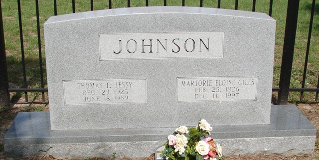 Thomas F Jessy Johnson