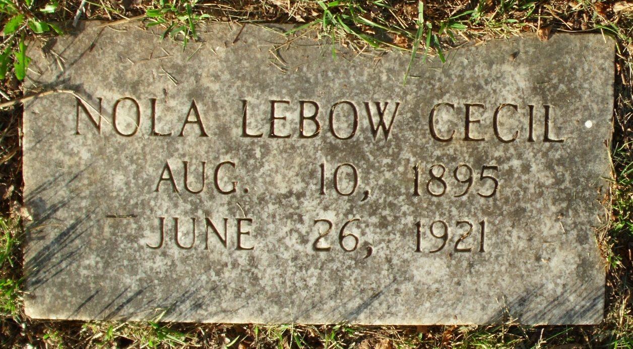Nola Jane Lebow