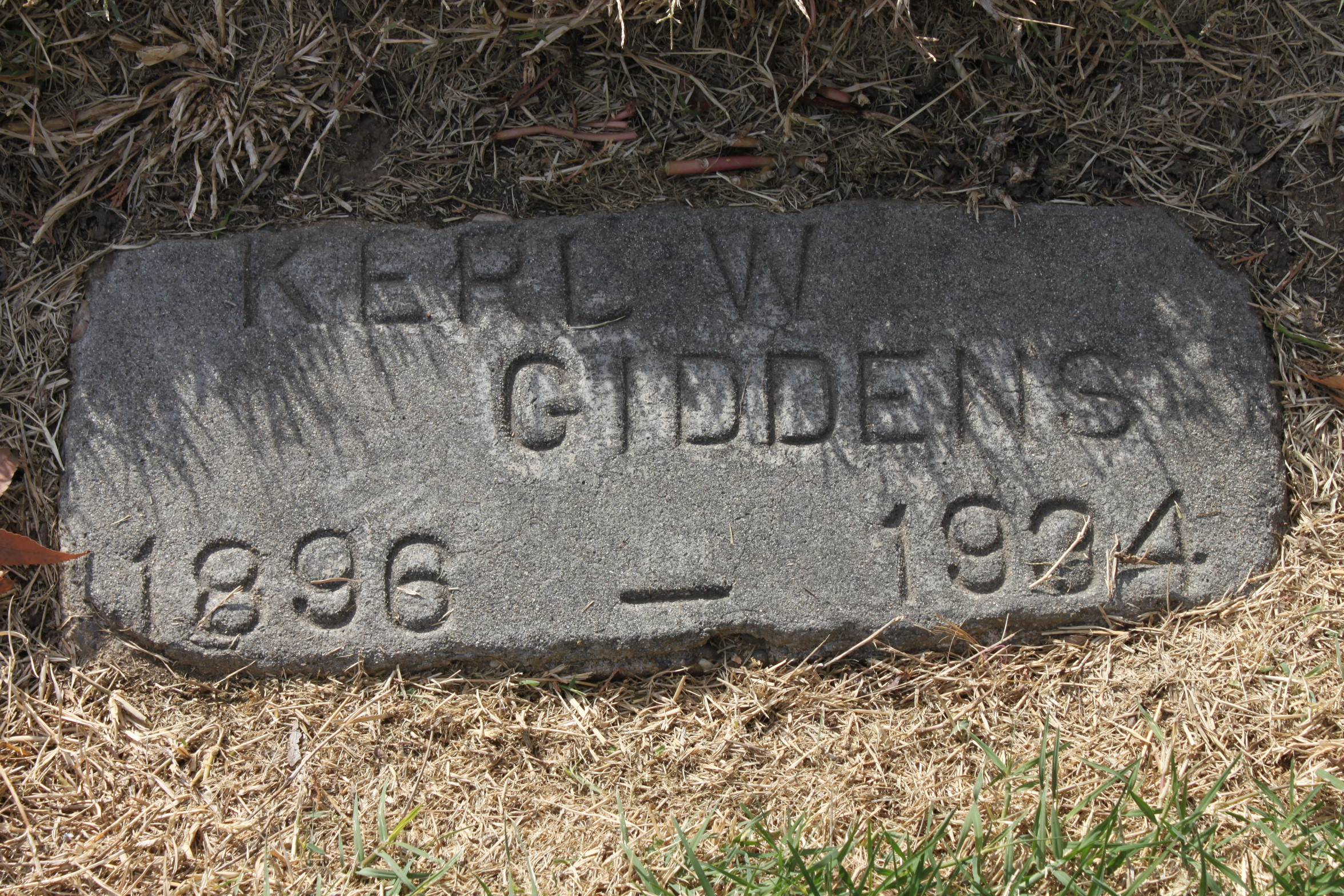 William W Giddens