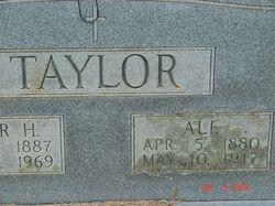 A L E Taylor