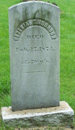 Hezekiah C Johnson