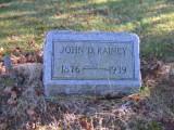 John Delos RAINEY