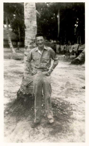 William E Downey WWII South Pacific