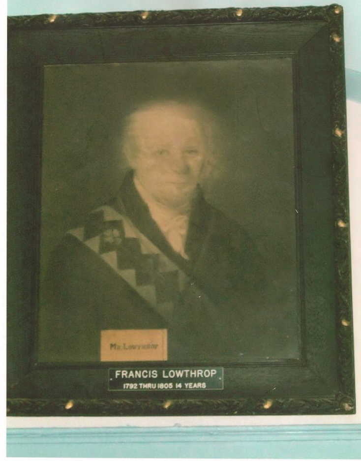 Francis Lowthorp grandfather of Sarah Lowthorp Baker-Ethel mom