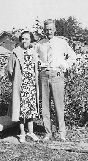 Ella Adamson and Arthur Adamson