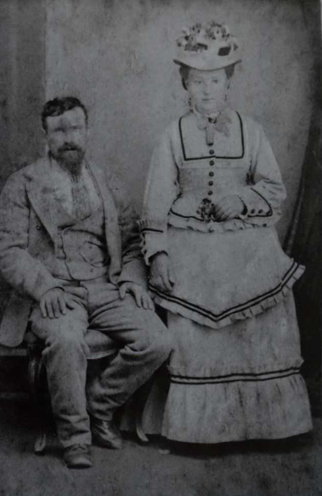 Kim's photo -  I think it's Rosalia and John Black