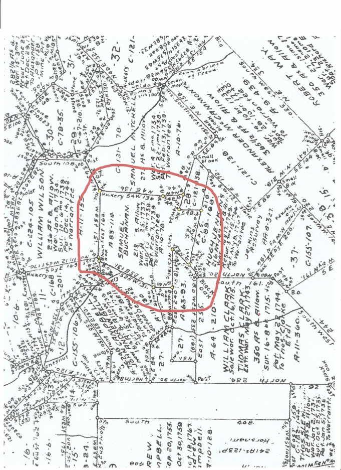 samuel buchanan land