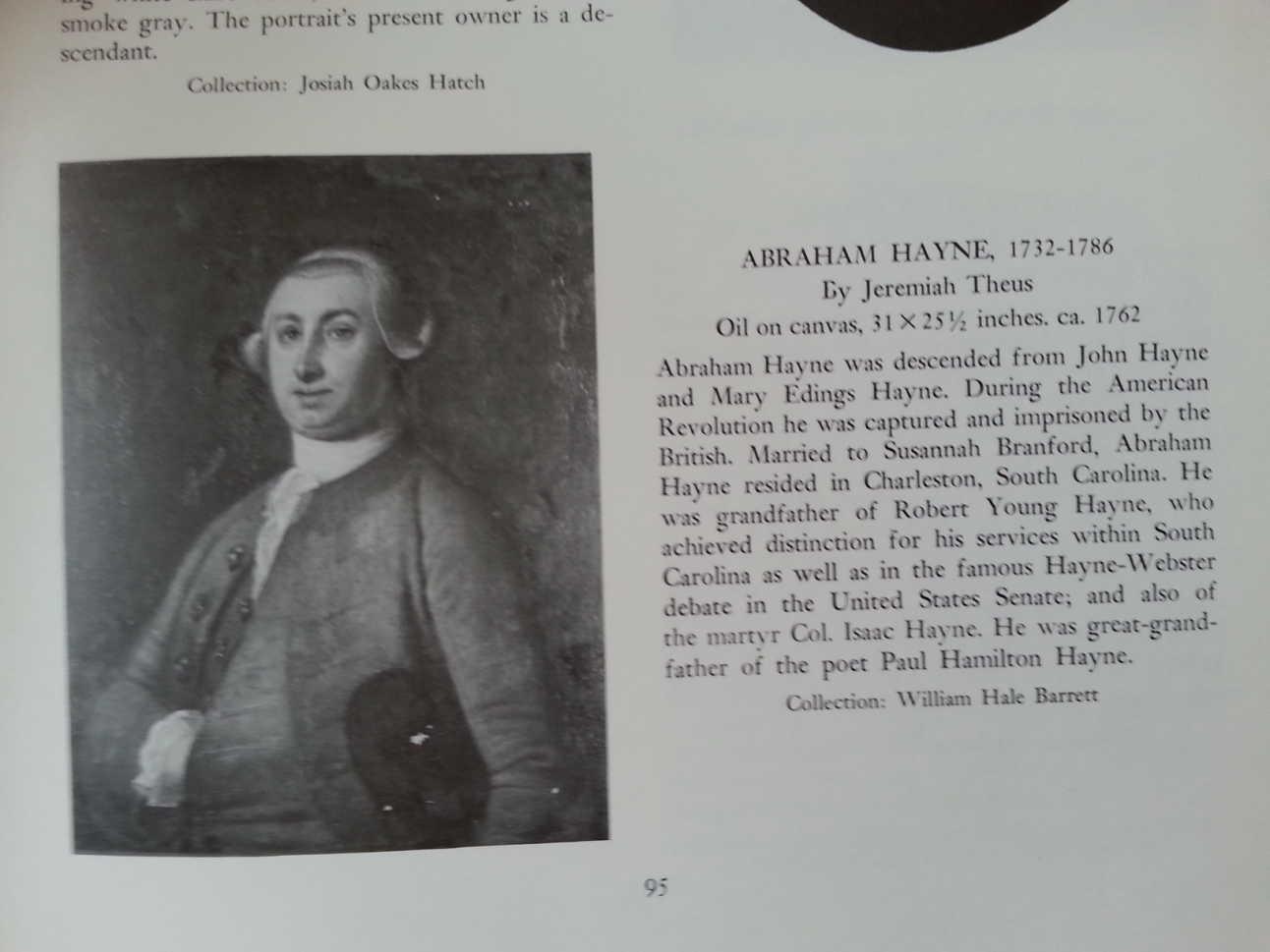 Abraham Hayne 1732-1786