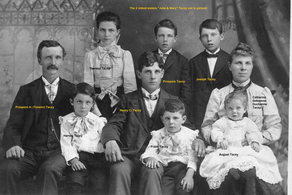 Prospere & Catherine Tacey Family