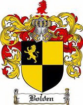 BOLDEN COAT OF ARMS