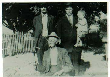 One rare picture George Chapman pete chapman great uncle Dewey Chapman  leta fay