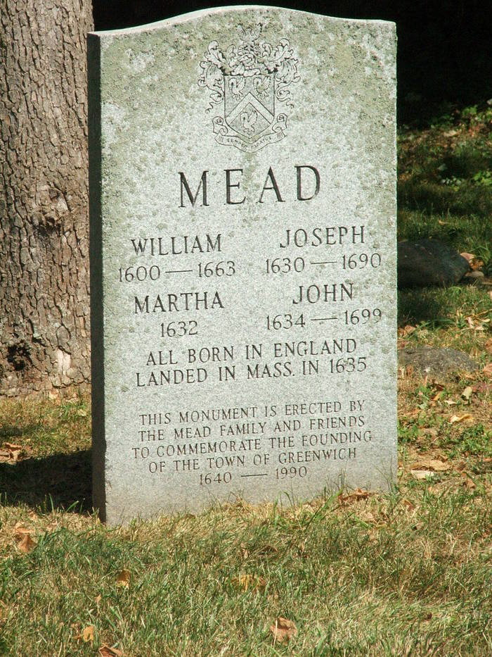 Meads tombstone