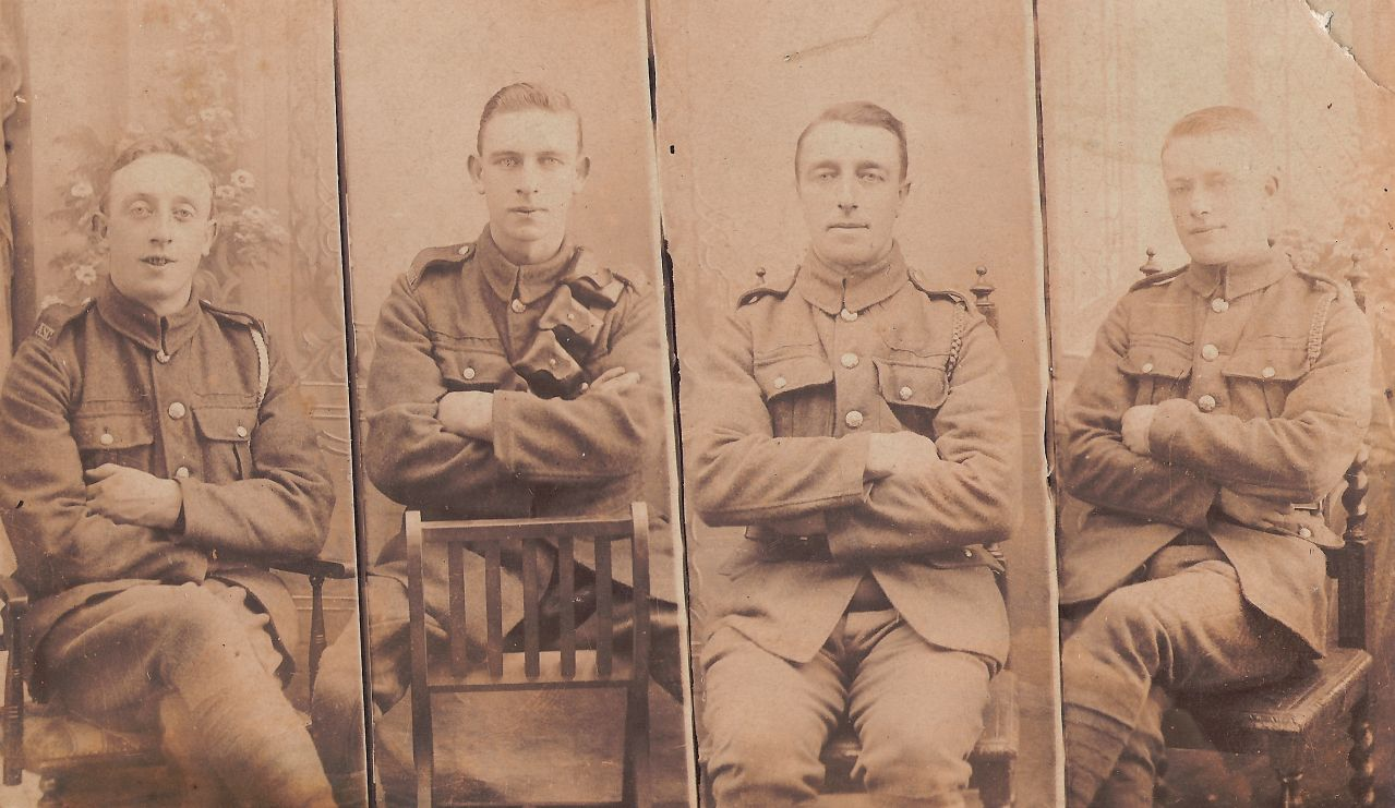 Sims Brothers in Army Uniform