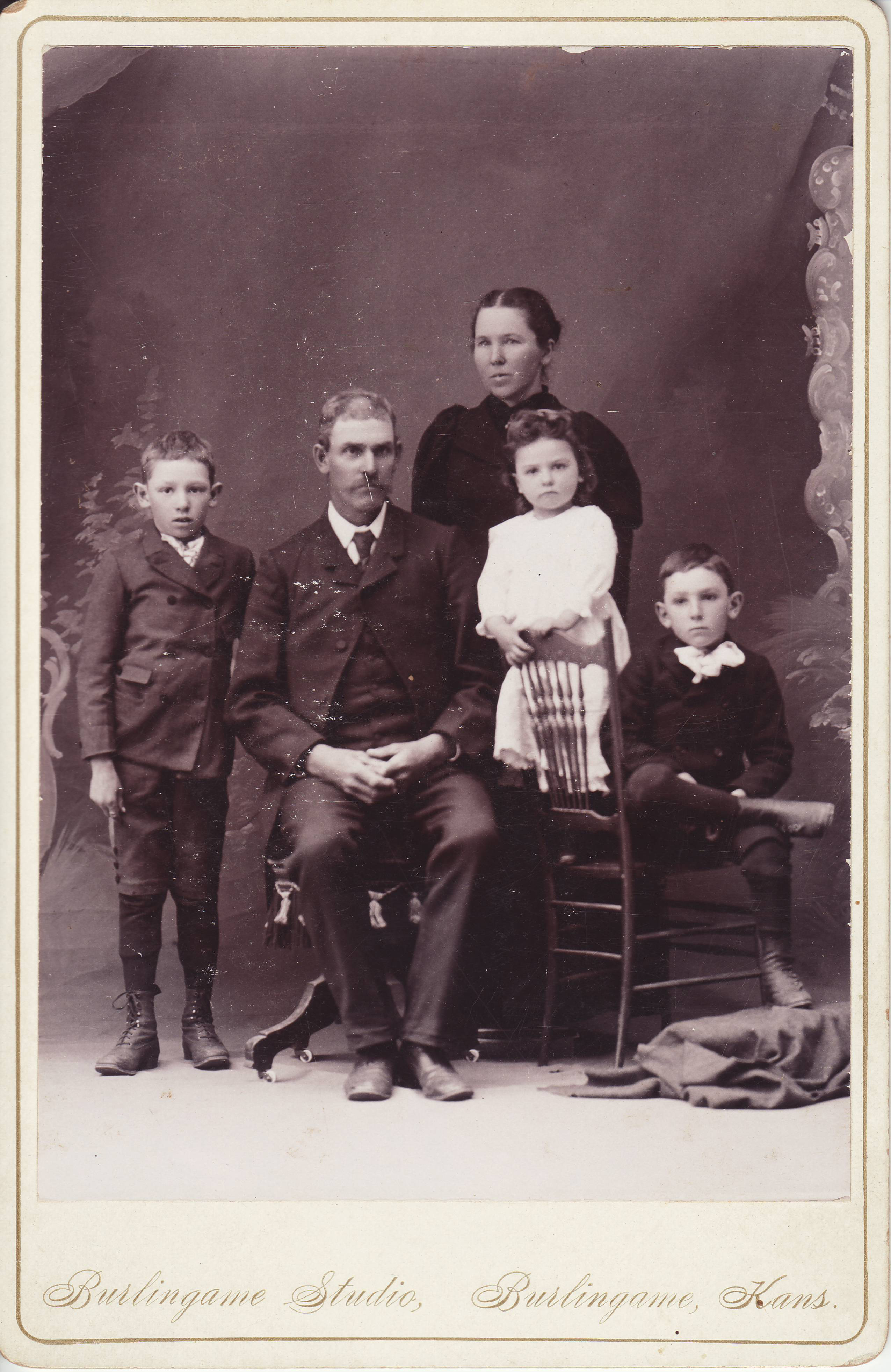 Frank D and Louise McKinstry Garrigues Family