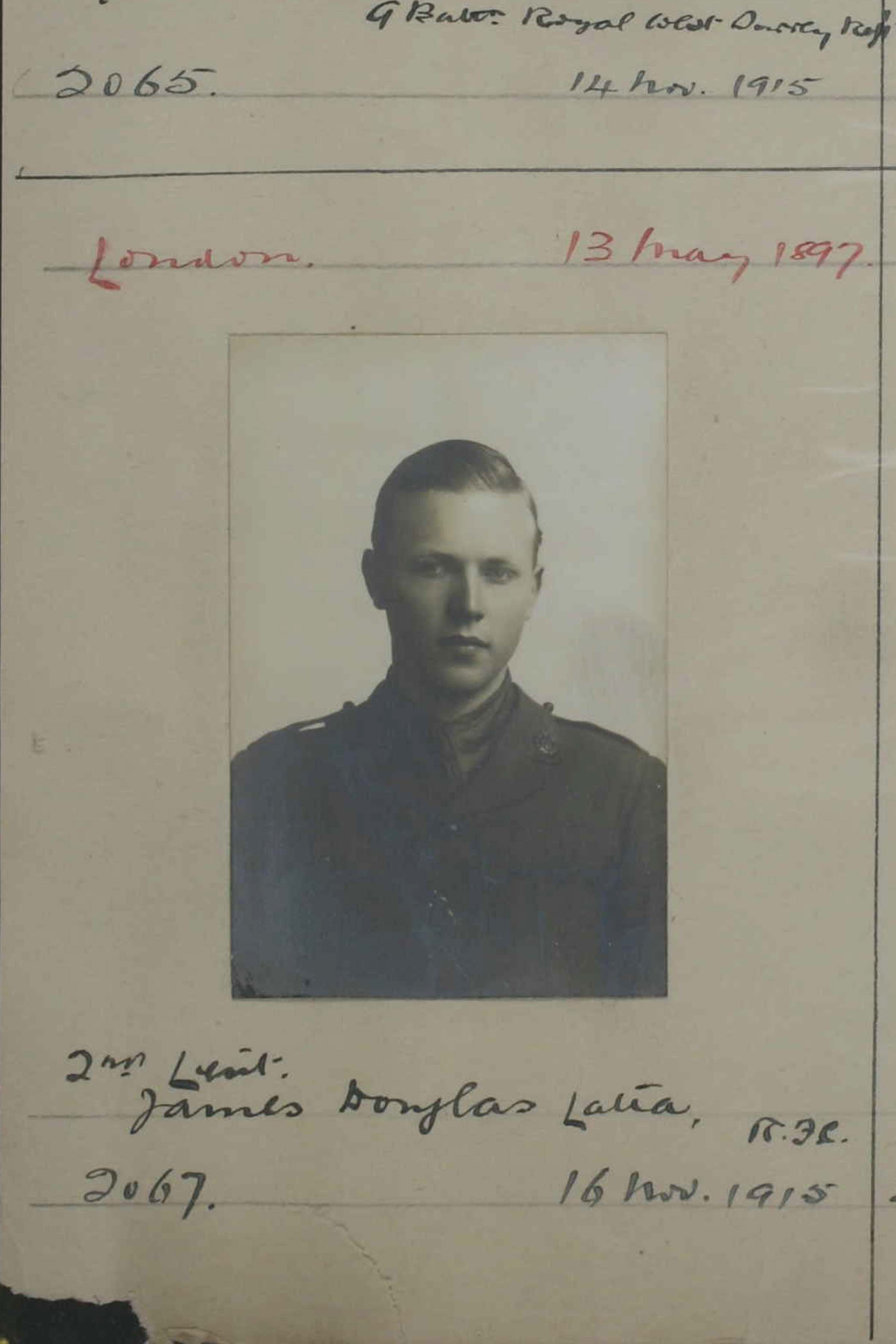 Latta, James Douglas, 1915