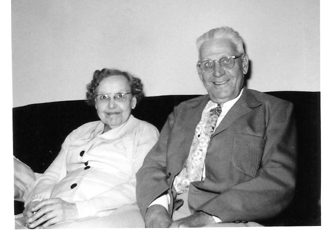 Ella Adamson with brother Arthur